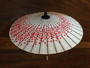 Japanse paraplu/Japanese umbrella